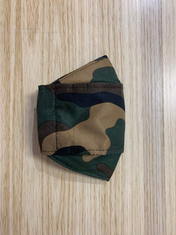 Adult Face Mask - Camouflage