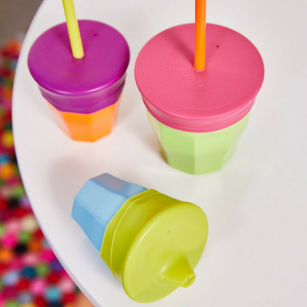 B.Box Silicone Lids - Passion Splash
