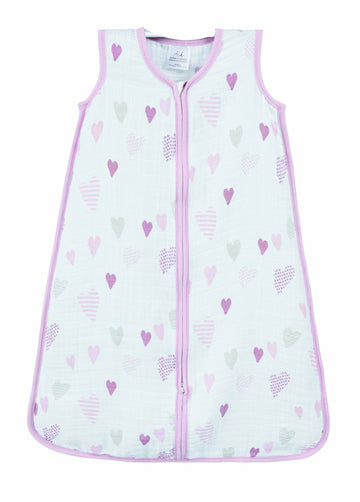 Aden+Anais Sleeping Bag 1.0 TOG - Heart Breaker