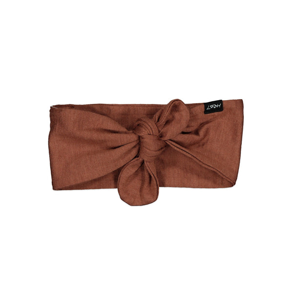 Little Flock of Horrors Darcy Headband - Russet - Eloquence Boutique