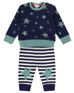 Lilly + Sid Top & Trousers Set - Stars - Eloquence Boutique