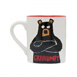 Hatley Coffee Mug - Grrrumpy - Eloquence Boutique