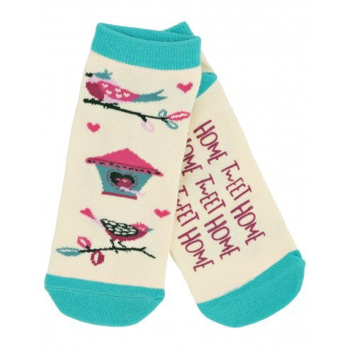Hatley Womens Ankle Socks - Bird House - Eloquence Boutique