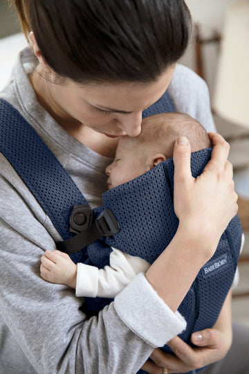 BabyBjorn Baby Carrier Mini - Navy Blue