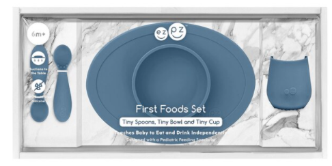 EZPZ First Foods Set - Indigo
