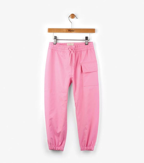 Hatley Splash Pants -  Pink - Eloquence Boutique