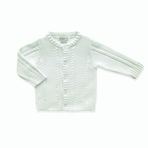 Beanstork Cardigan - Winter White - Eloquence Boutique