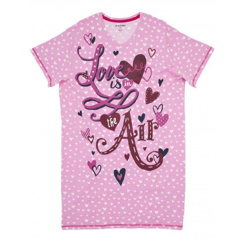Hatley Sleepshirt - Love is in the Air - Eloquence Boutique