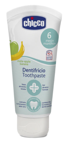 Chicco Toothpaste - Apple & Banana 6mths+