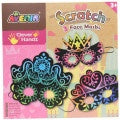 Avenir Scratch Art - Face Masks