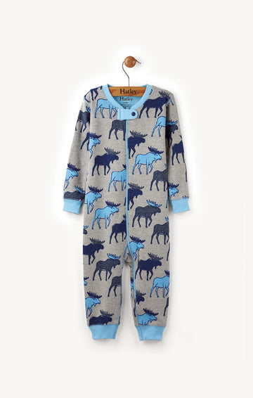 Hatley Coverall - Blue Moose