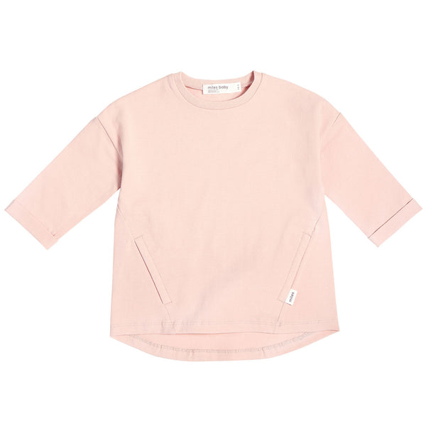 Miles Baby Tunic - Pink