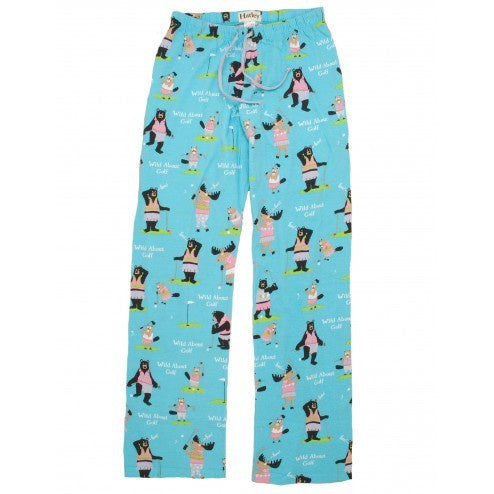 Hatley Womens Pyjama Pants - Golf Animals