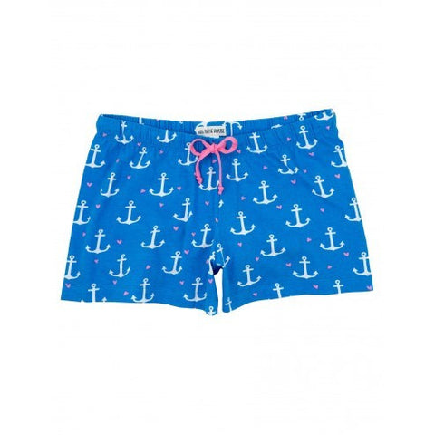 Hatley Womens Boxers - Anchors - Eloquence Boutique