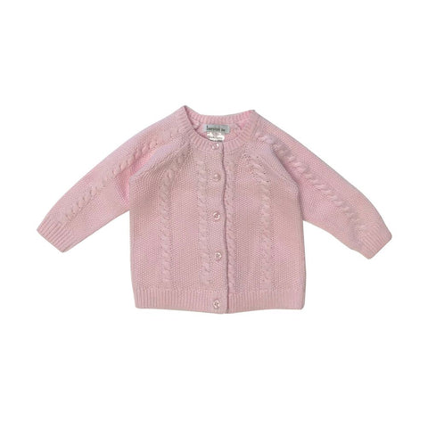 Beanstork Cardigan - Soft Pink - Eloquence Boutique