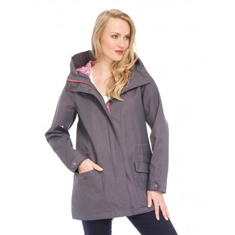 Hatley Womens Field Jacket - Embossed Flower - Eloquence Boutique