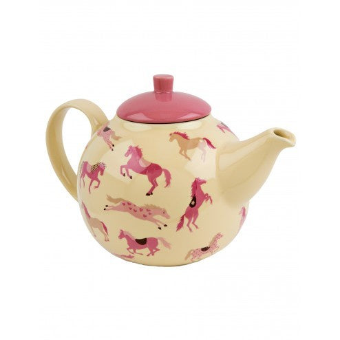 Hatley Tea Pot - Hearts & Horses - Eloquence Boutique