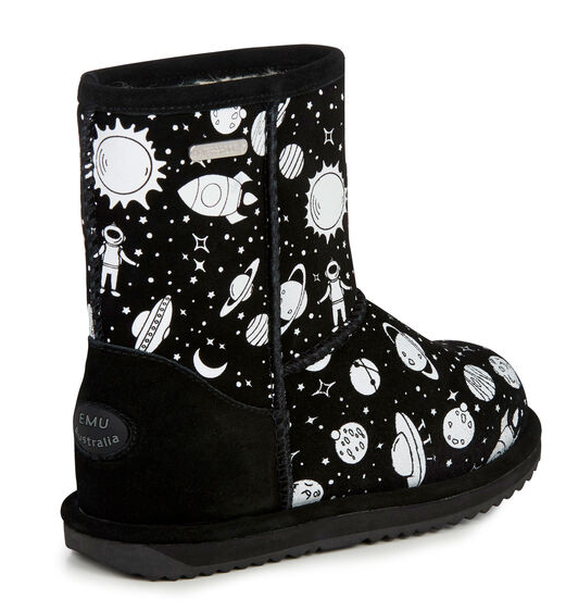 Emu Brumby Boots - Outer Space