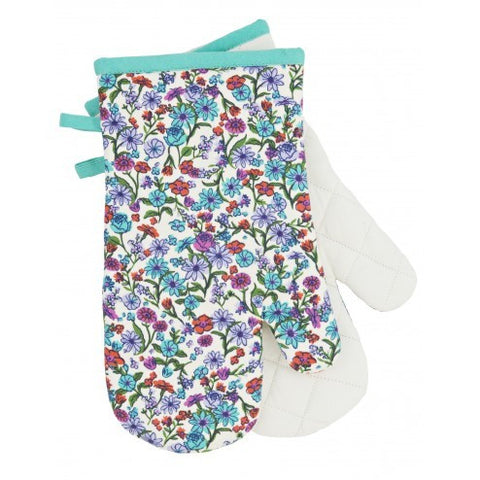 Oven Mitts - Botanical Garden - Eloquence Boutique