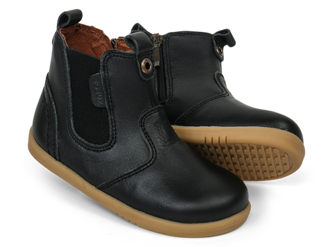 Bobux I-Walk - Black Jodhpur - Eloquence Boutique