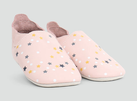 Bobux Soft Soles - Blossom Milky Way - Eloquence Boutique
