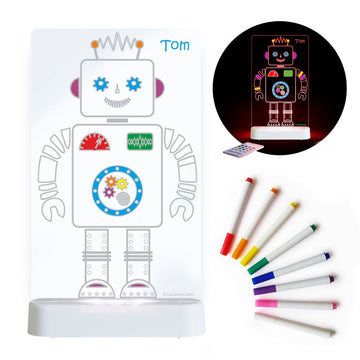 Aloka Night Light - Colour Me Robot