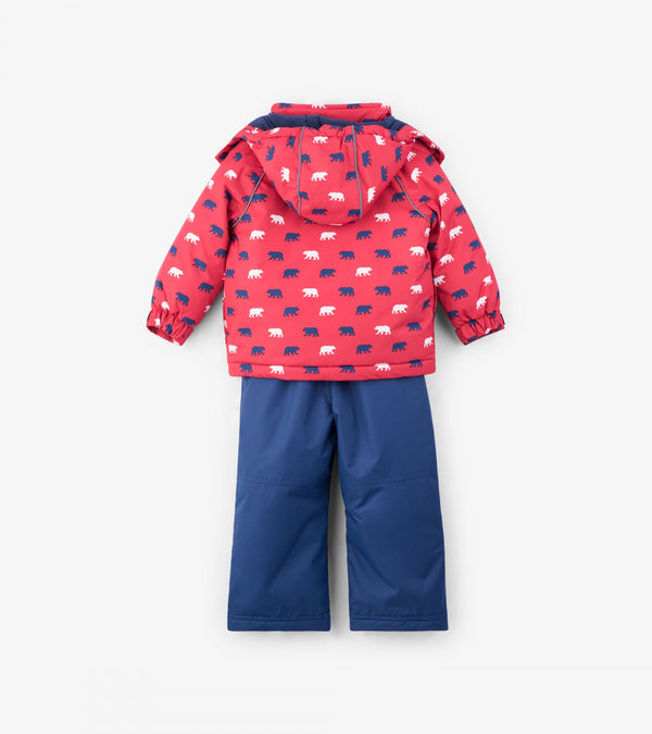 Hatley Snow Suit - Polar Bear