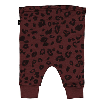 Little Flock of Horrors Asher Pants - Mulberry Cheetah
