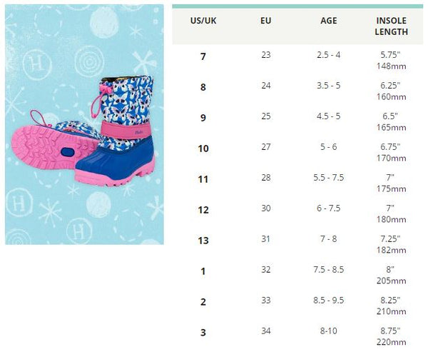 Hatley Winter Boots - Silhouette Dinos