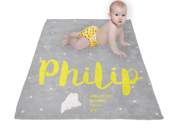 Baby Blanket, Baby Gift, Baby Blankets Personalized, Baby Blanket Personalised