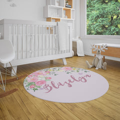 Shabby Chic Floral Rug Playhouse