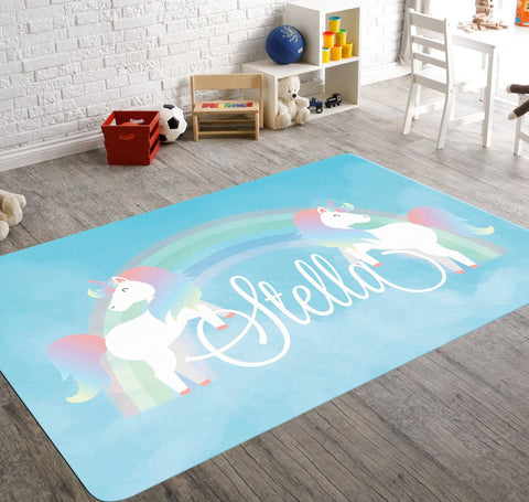 Unicorn Nursery Rug
