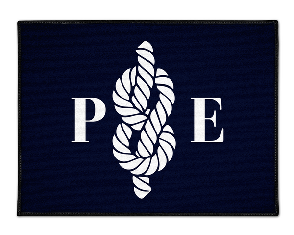 Custom Nautical Floor Mat