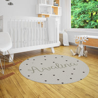 Avalina Stars Neutral Rug