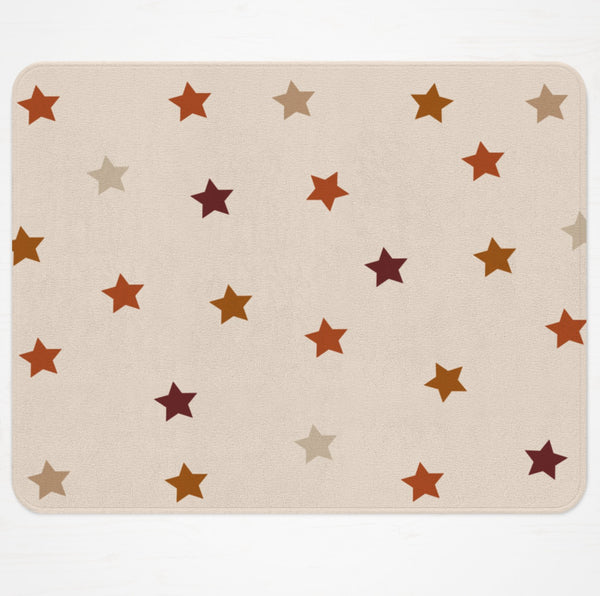 Mia Earth Tones Stars Rug