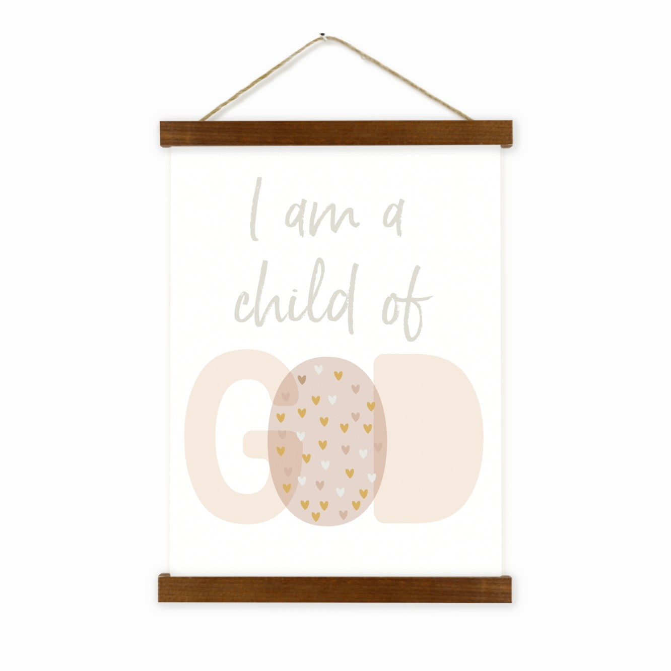 I Am A Child Of God Wall Hanging