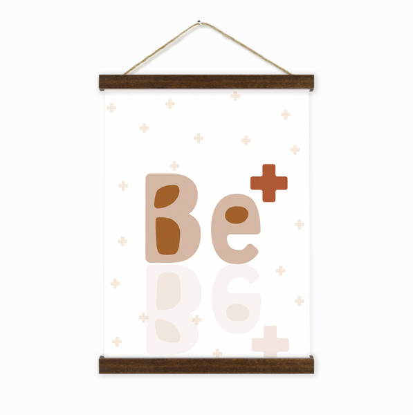 Be Positive Wall Hanging For Kids