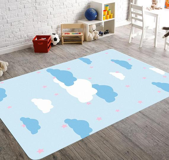 Alexander Cloud & Stars Nursery Rug