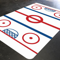 Hockey Decor, Playroom Rug, Sports Nursery Decor, Dorm Rug