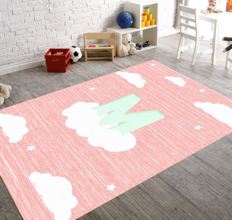 Liam Cloud Nursery Rug.
