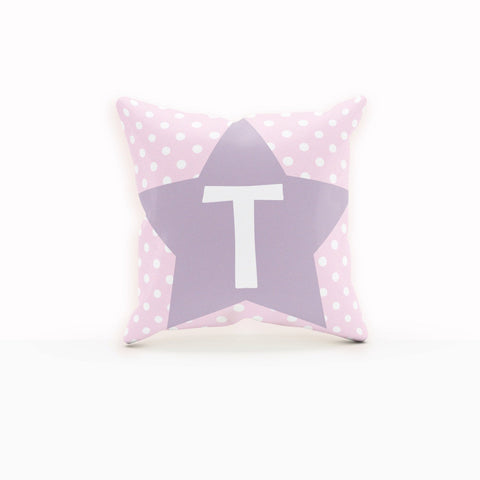 Throw Pillows Pink, Polka dote Pillow cover, Throw Pillows Purple,Star Pillow
