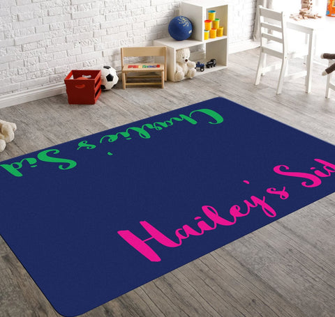 Hailey Customized Double Named Rug