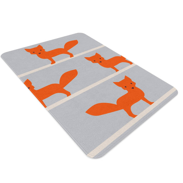 Fox Rug, Woodland Nursery Rug, Fox Nursery, Woodland Nursery Decor