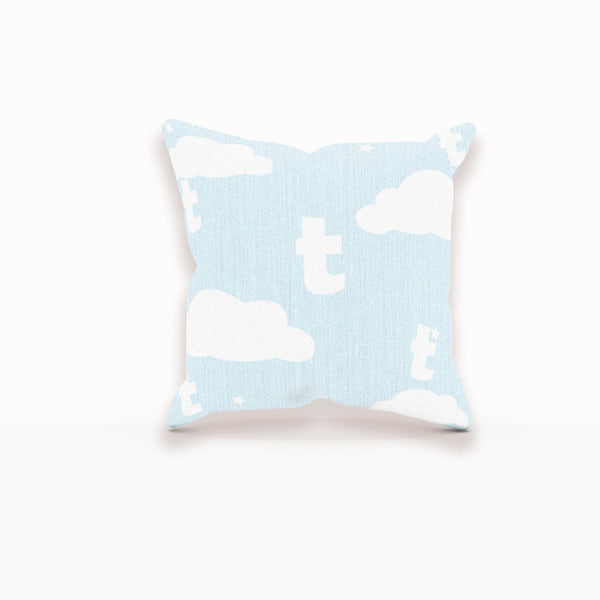 Cloud Pillow, Monogram Pillow Cover, Monogram Pillow Case, Monogram Boy