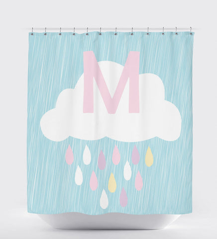 Shower Curtain Monogram, Shower Curtain Kids, Shower Curtain Custom, Personalized Kids Gifts