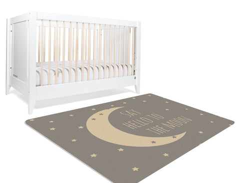 James Moon & Stars Nursery Rug