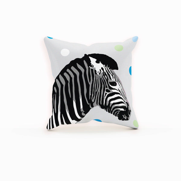 Zebra Pillow, Decorative Throw Pillows, Zebra Decor, Gifts For Friends