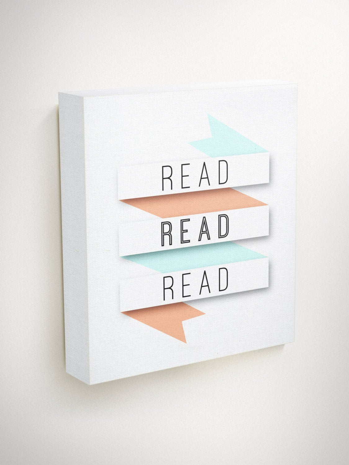 Read, Reading, Nursery Decor, Reading Wall Art, Kids Wall, Classroom Decor, Inspirational Quote Wall Art, Teacher Gifts, Gifts For Readers