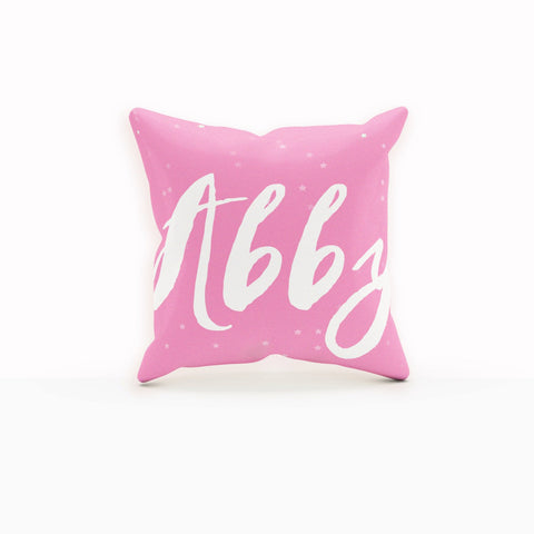 Name Pillow, Girl Nursery Decor, Monogram Girls, Tween Gifts