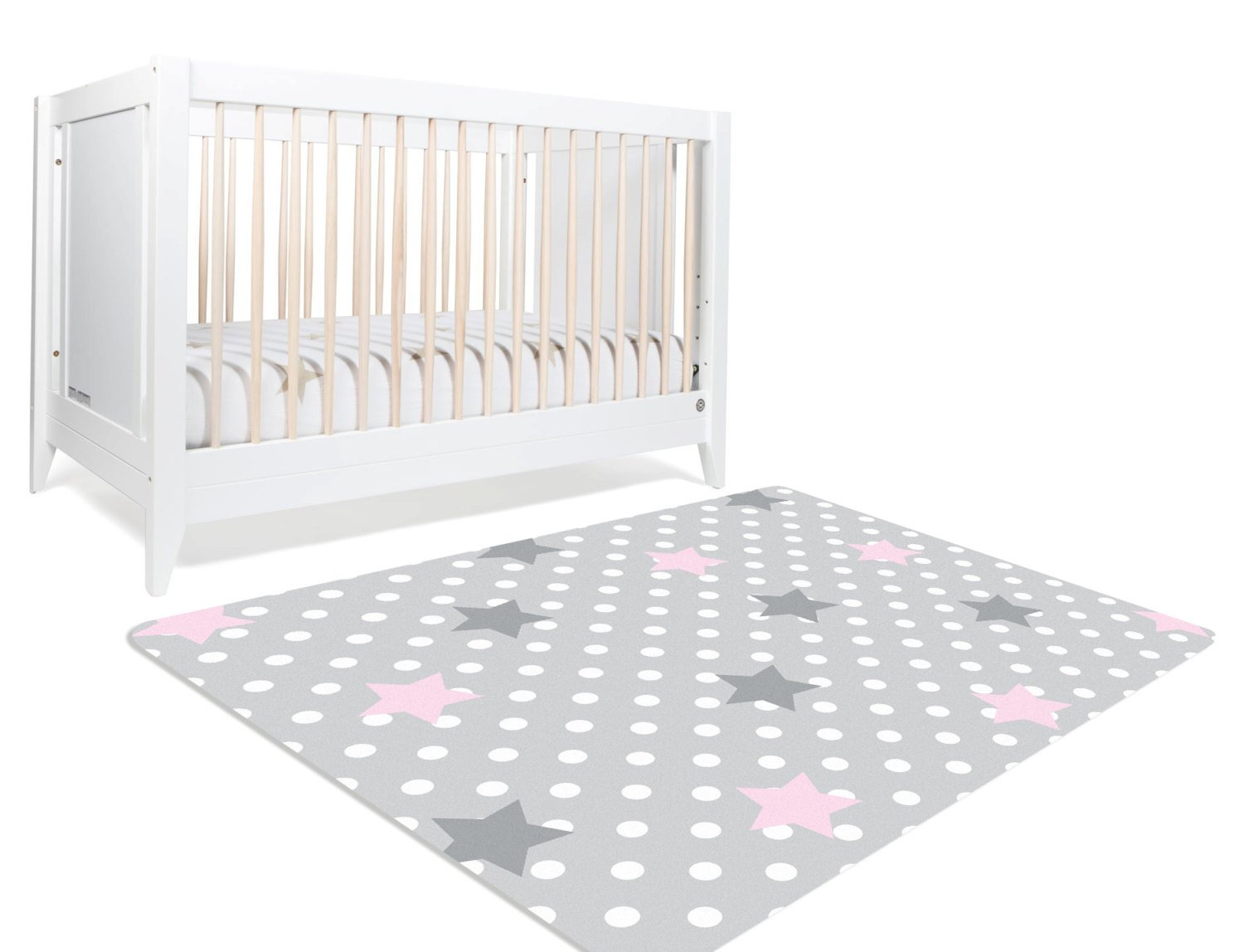 Star Rug, Moon And Stars Nursery, Star Nursery, Pink And Grey Nursery
